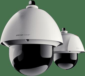 caméra de vidéo surveillance Spryntdome®
