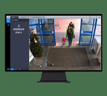 GO'IA® Analytics pour compter les visiteurs