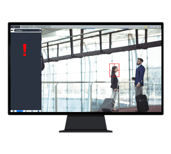 GO'IA® Filtering pour être alerté en cas d'individu blacklisté