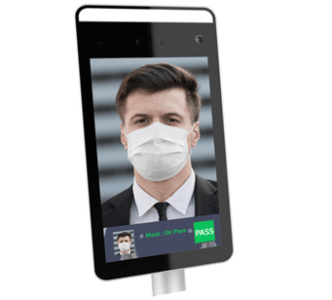 Tablette pour contrôle de port du masque