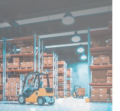 Solutions vidéos pour centre logistique et supply chain