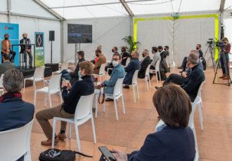 Conférence de presse ouverture voie de covoiturage Pryntec x APRR
